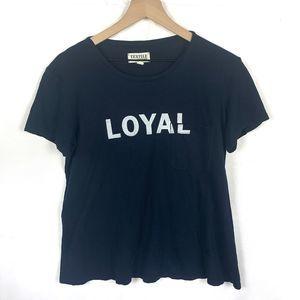 LOYAL Textile Elizabeth & James T Shirt